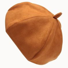 Casual Warm Soft Beret Solid Chic Faux Suede French Beret Hats Autumn Winter Accessories Headwear Color red Size One Size Beanie Hats For Women, Winter Hats For Women, Women Hats, Hat Men, Suede Hat, Suede Leather, Leather Hats, French Beret Hat, Pumpkin Hat