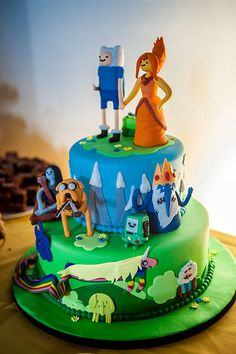 Strange 107 Best Adventure Time Cakes Images Adventure Time Cakes Funny Birthday Cards Online Alyptdamsfinfo