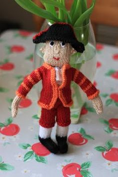 KnittingPony: A Royal Footman!