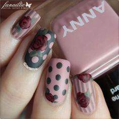 Pretty   Matte Manicure