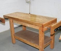 There are a number of instructables on building workbenches of various degrees of cost and sophistication, but most of them are really just tables. ...