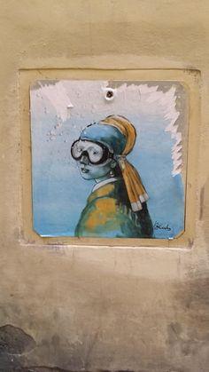 Florence Street Art by Blub, photo: Judit Erharter