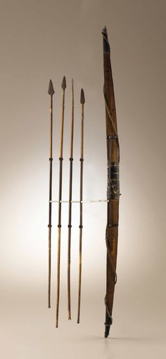 Лук и стрелы вождя Шошонов - Eagle Eye's. 1868 год. Айдахо.