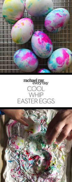 What You'll Want To Hunt For In A Very Do-it-yourself Dwelling Energy Audit Cool Whip Easter Eggs - Rachael Ray Every Day Wedding Anniversary Presents, Kitchen Ornaments, Coloring Easter Eggs, Egg Coloring, Easter Egg Crafts, Paper Crafts, Diy Crafts, Do It Yourself Crafts, Easter Party