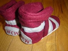 Baby wrestling shoes :)