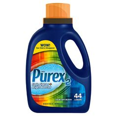 Remove Tough Stains with Purex 2 Stain Fighter and Color Safe Bleach
