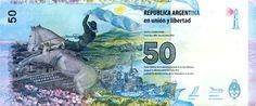 nuevo billete de $50 Argentinos con motivo de las Islas Malvinas