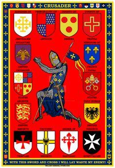 Crusader Poster by williammarshalstore on DeviantArt