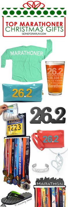 Do you need some marathon Christmas gift ideas for the that special runner in your life? We've got you covered! GoneForARUN has BibFOLIOS, medal displays, statement shirts, PR Soles, jewelry, and everything in between! Most products can be personalized with a name or race details, too! Find these awesome running gifts exclusively at GoneForARUN.com