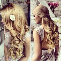 penteado cabelo longo =]
