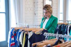Pani Agnieszka Popielewicz postanowiła od razu wybrać dla siebie kilka wzorów z najnowszej kolekcji... #qsq #fashion #work #press #AgnieszkaPopielewicz