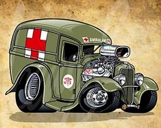 Cars cartoon autos 35 ideas for 2019 Cartoon Car Drawing, Car Drawings, Cartoon Art, Cars Cartoon, Vw Vintage, Vintage Trucks, Rat Fink, Cartoons Magazine, Truck Art