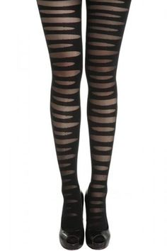 Wholecolored Cut Out Skinny Pantyhose