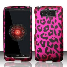 Motorola Droid Mini XT1030 Snap On Hard Protector Cover Case - Pink Leopard Balaji Trading, Inc.