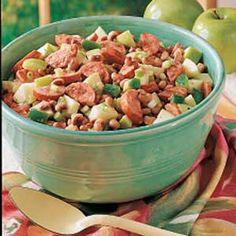 Kielbasa Summer Salad