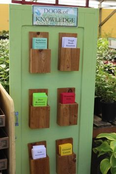 Signage – Lawn & Garden Retailer