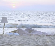 sleep on the beach