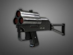 RGS-33 Special Grenade Launcher, Pavel Kutejnikov on ArtStation at https://www.artstation.com/artwork/rgs-33-special-grenade-launcher