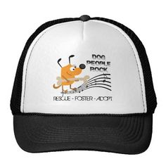 Dog People Rock Trucker Hat