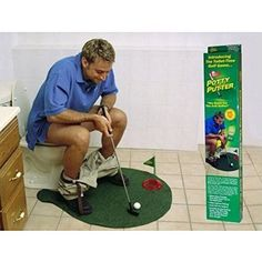 Golf Games Collection | BUYEONLINE 1 Set Potty Putter Toilet Golf Game Mini Golf Mat Ball Set Toilet Golf Minigolf Toys -- Check out the image by visiting the link. Note:It is Affiliate Link to Amazon. #40likes