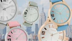 OOZOO Timepieces New Summer 2014 tussencollectie.