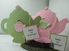 African American Baby Shower Girl Pink Baby Teacup Card | African ...