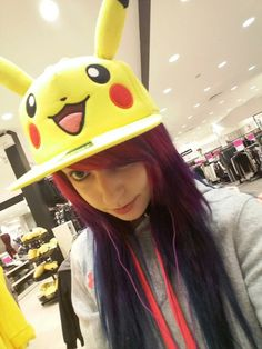 Viro Psycho Rainbow Hair PIKACHU