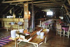 Restaurant Niinipuu's buffet every sunday from local ingredients