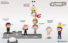 formula one cartoon images | Continental Circus: Formula 1 em Cartoons - Coreia do Sul (Grand Prix ...