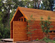 Casa Granero/Barn House, Cazú Zegers G. Chili, Long House, Wooden Barn, Wood Architecture, Small Buildings, Cabins In The Woods, Modern Rustic, Future House, Cottage