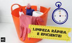 Para facilitar as tarefas da limpeza é preciso fazer um planejamento, dessa forma, você aproveita melhor o tempo e as tarefas ficam mais práticas e eficientes. No vídeo, você verá dicas de como limpar a casa de forma rápida e eficiente, e como fazer um bom planejamento das tarefas. Confira!