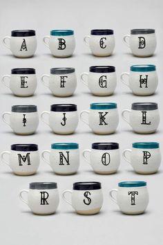 Magical Thinking Monogram Mug