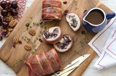 Crackin' Chicken Roulade with Wild Rice n' Cranberry Stuffing
