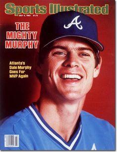 Dale Murphy, Baseball, Atlanta Braves