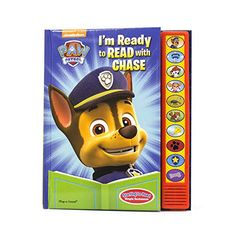 Nickelodeon Paw Patrol I'm Ready to Read with Chase Sound Book Paw Patrol Pups, Baby Boy Toys, Puppy Birthday, Im Ready, Kids Store, Free Reading, The Book, Childrens Books, Book Play