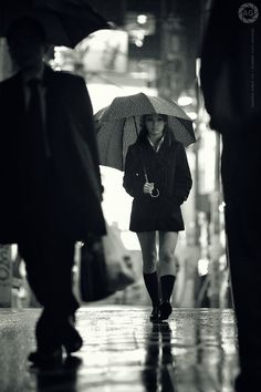 Rainy day Tokio, by Alfie Goodrich.