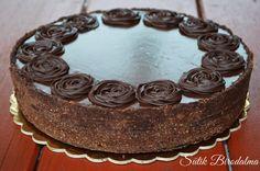 SÜTIK BIRODALMA: Karamellás-fehér csokoládés mousse torta - Sütés mentes Cupcakes, Mousse, Cookies, Baking, Food, Hair Style, Caramel, Biscuits, Style Hair