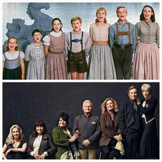 """kids celebrate the film's anniversary with a new portrait. """"The kids celebrate the film's anniversary with a new portrait. Movies Showing, Movies And Tv Shows, Pixar, Sound Of Music Movie, I Love Cinema, Princesa Disney, Julie Andrews, About Time Movie, Classic Movies"""