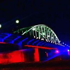 John Frostbridge by night, Arnhem