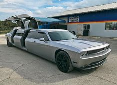 This might be the world's most unique and luxurious Dodge Challenger...