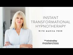 In this Masterclass, Marisa Peer will demonstrate the instant transformation that's possible with her unique, highly personal approach to hypnotherapy.