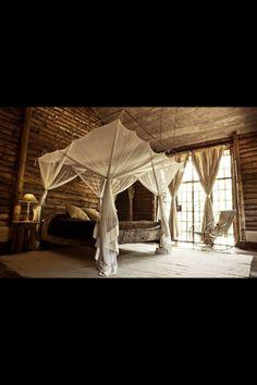 African safari themed bedroom