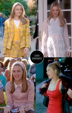 I was OBSESSED with the top right outfit!  Still kinda am.....