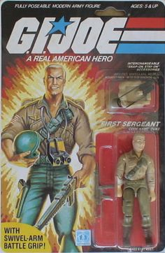 Duke was my favorite GI Joe toy ever.  In my mind he symbolized both of my grandfathers (who had both fought in WWII)