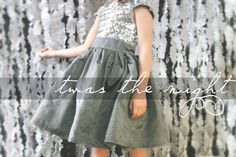Free Girls Dress Pattern  //  Downloadable PDF