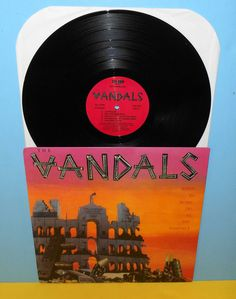 The VANDALS when in rome do as the vandals Lp Record punk Vinyl #punk