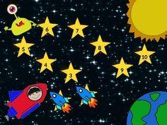 Space Ship Boy Rocket Alien Astronaut Reward Chart