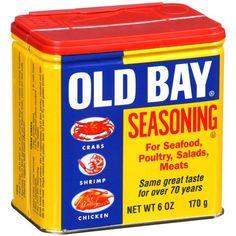 OLD BAY sait comment relever vos plats de viandes, poissons et crustacés : TESTEZ LE SANS PLUS ATTENDRE :