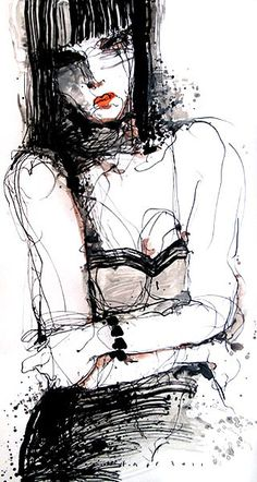 Original drawing by Viktor Sheleg by Le Siants Galerie, via Flickr