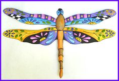 Dragonfly Metal Art - Tropical Decor - Handcrafted Painted Metal Dragonflies - Outdoor Garden Decor Wall Hangings, Outdoor Metal Wall Art Dragonfly Wall Decor - Garden Art, Handcut from Recycled Steel Drums in Haiti Art Tropical, Design Tropical, Tropical Wall Decor, Tropical Interior, Tropical Colors, Tropical Furniture, Tropical Artwork, Outdoor Metal Wall Art, Metal Garden Art